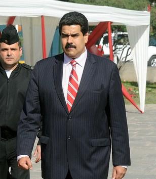 Current Venezuelan President Nicolás Maduro. Courtesy CC.