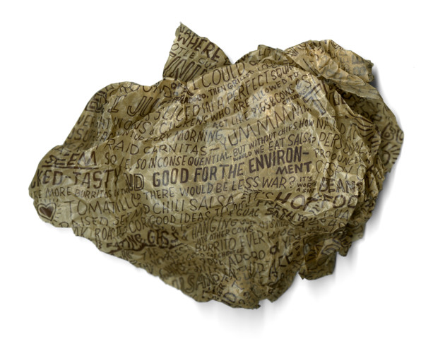 recycle wrapper