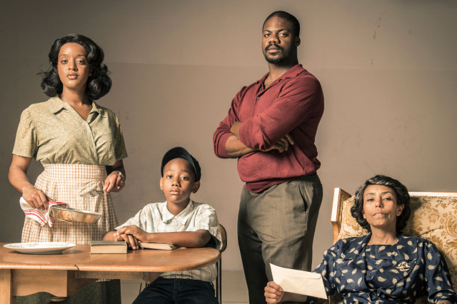 Cast photo of Raisin in the Sun