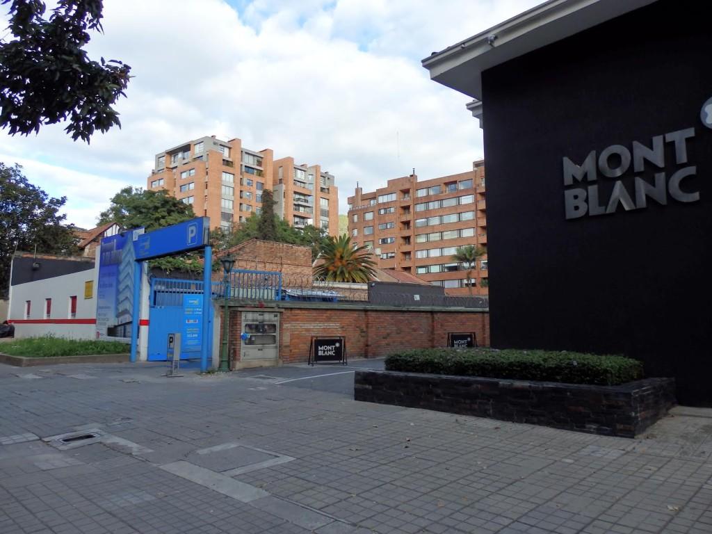 Bogotá parking lot